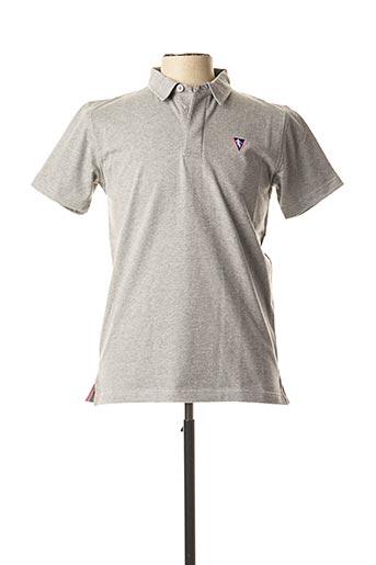 Polo manches courtes gris CAMBERABERO pour homme