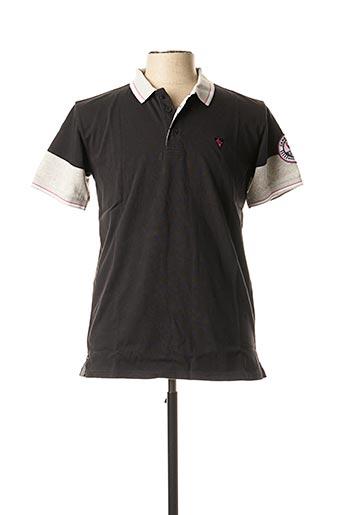 Polo sans manche noir CAMBERABERO pour homme