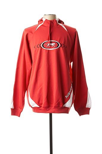 Sweat-shirt rouge AIRNESS pour homme