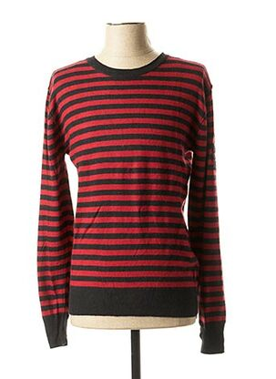 Pull col rond noir RWD pour homme
