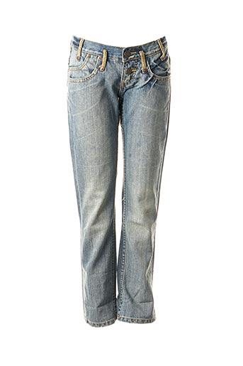 Pantalon 7/8 bleu FREEMAN T.PORTER pour femme
