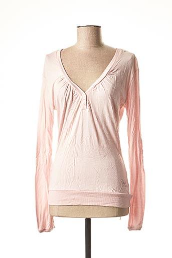 T-shirt manches longues rose CHILLI PEPPER pour femme
