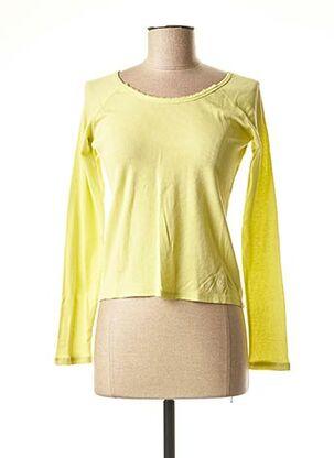 T-shirt manches longues vert TEDDY SMITH pour fille