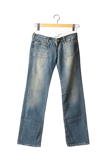 Jeans coupe droite bleu REPLAY AND SONS pour fille