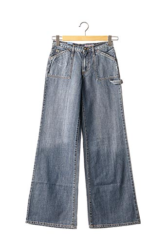 Jeans coupe large bleu CIMARRON pour fille