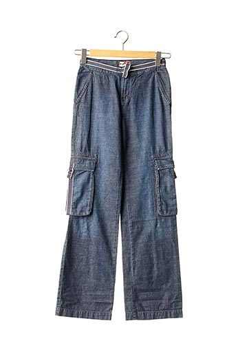 Jeans coupe large bleu TEDDY SMITH INDUSTRY pour fille