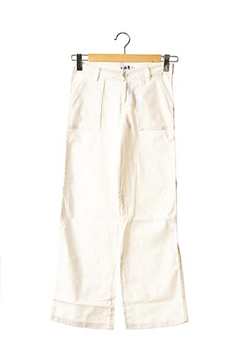 Pantalon chic blanc TEDDY SMITH INDUSTRY pour fille