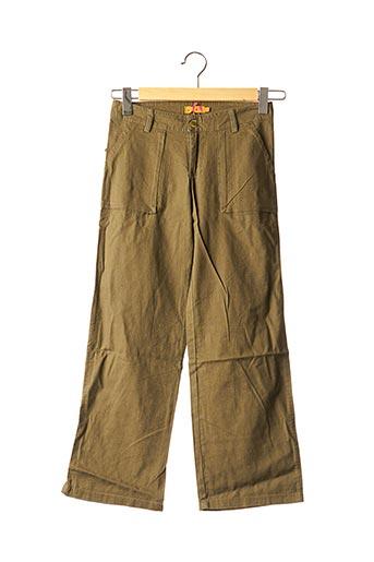 Pantalon chic vert TEDDY SMITH INDUSTRY pour fille