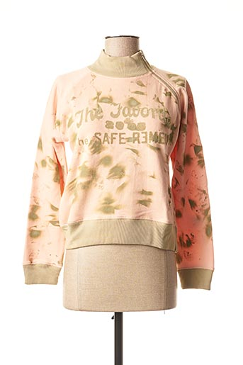 Sweat-shirt rose TEDDY SMITH INDUSTRY pour fille