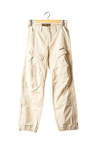 Pantalon casual beige FREEMAN T.PORTER pour homme