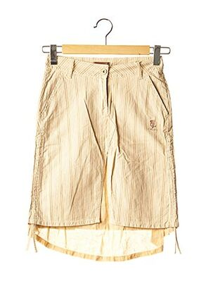 Jupe mi-longue beige TEDDY SMITH INDUSTRY pour fille