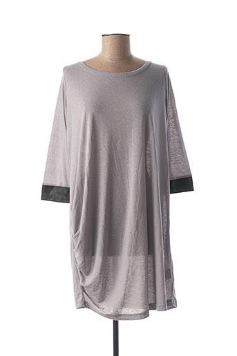 Robe courte gris BLEND SHE pour femme