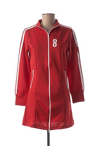 Veste casual rouge BB LONDON pour femme
