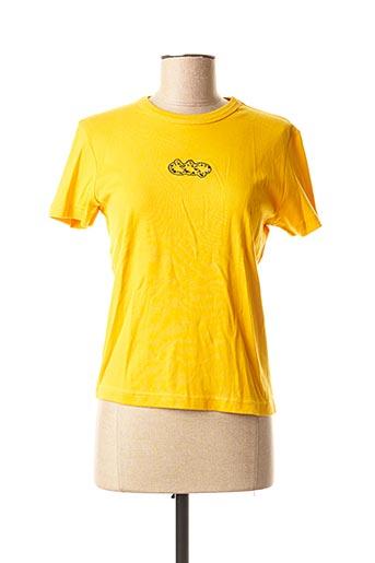 T-shirt manches courtes orange DDP pour femme