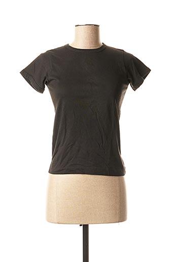 T-shirt manches courtes noir DDP pour enfant