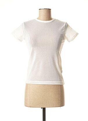 Top beige TEDDY SMITH pour femme