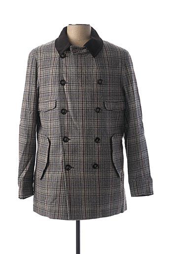 Manteau court gris G STAR pour homme