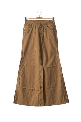 Pantalon casual beige CIMARRON pour fille