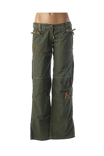 Pantalon casual vert REPLAY AND SONS pour fille