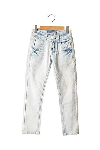 Jeans coupe slim bleu MISS F & 2 pour fille