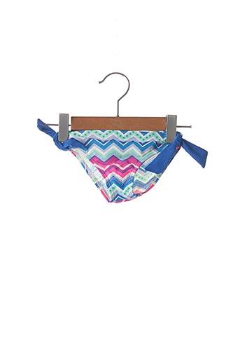 Bas de maillot de bain bleu LEMON BAY pour fille