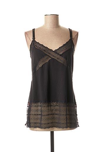 Pyjama noir CALIDA pour femme
