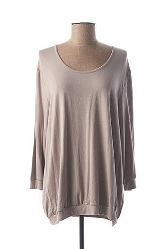T-shirt manches longues gris CALIDA pour femme