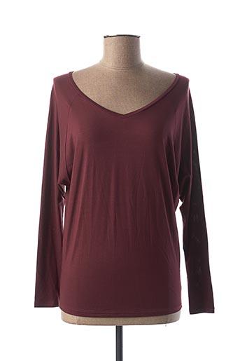 T-shirt manches longues rouge CALIDA pour femme
