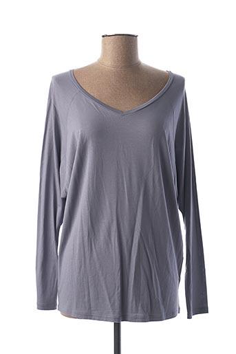 T-shirt manches longues violet CALIDA pour femme