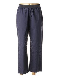 Pantalon 7/8 bleu NICE THINGS pour femme