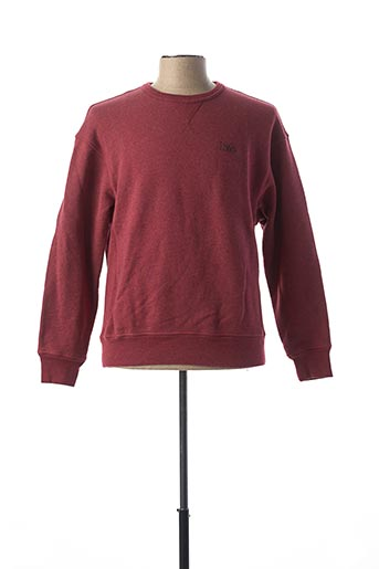 Pull col rond rouge LEVIS pour homme