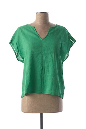 Top vert NICE THINGS pour femme