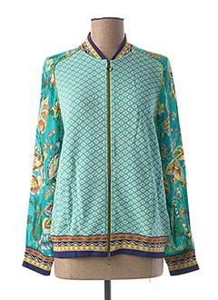 Veste casual bleu ALDOMARTINS pour femme