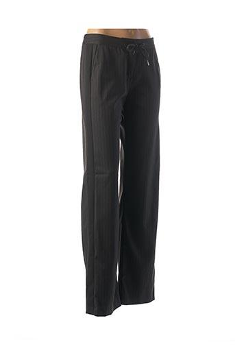 Pantalon casual noir I.CODE (By IKKS) pour femme