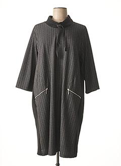 Robe pull noir CISO pour femme