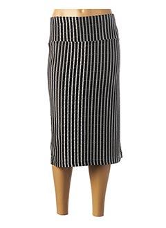 Jupe mi-longue noir JEAN MARC PHILIPPE pour femme