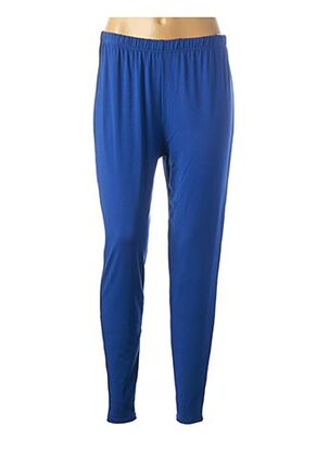 Legging bleu MAGNA pour femme