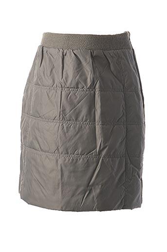 Jupe courte gris CREEKS pour fille
