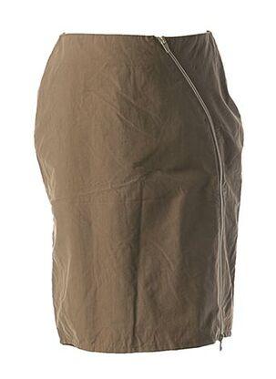 Jupe mi-longue beige CREEKS pour fille