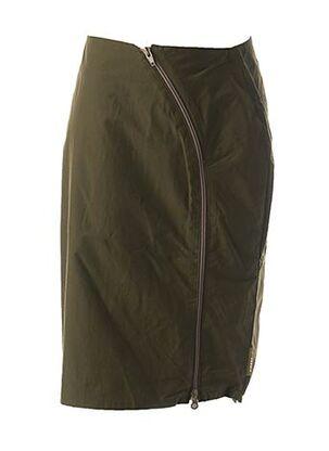 Jupe mi-longue vert CREEKS pour fille