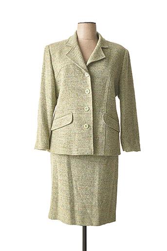 Veste/jupe vert FOUKS pour femme