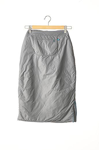 Jupe mi-longue gris CREEKS pour fille