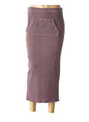 Jupe longue violet CREEKS pour fille