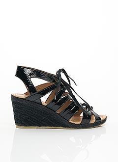 Sandales/Nu pieds noir BOCAGE pour femme