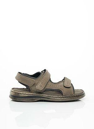 Chaussures de confort gris JOSEF SEIBEL pour homme
