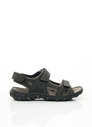 Chaussures de confort noir JOSEF SEIBEL pour homme