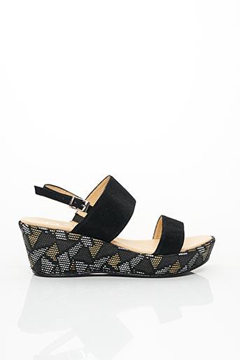 Sandales/Nu pieds noir BZ BIS pour femme