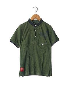 T-shirt manches courtes vert AEROPILOTE pour garçon