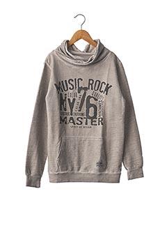 Sweat-shirt gris AEROPILOTE pour garçon