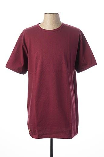 T-shirt manches courtes rouge LE T-SHIRT PROPRE pour homme